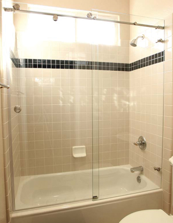 Custom Frameless Shower Doors Sacramento